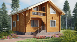 Дом из деревянного бруса: общие сведения