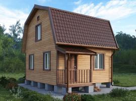 Дачный дом 005ДД 5х6