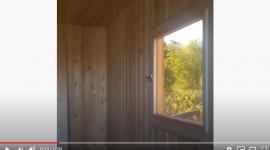 Видео: отделка бани