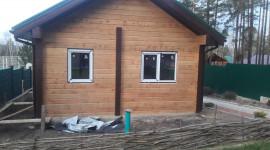 Наши работы: дом из клееного бруса