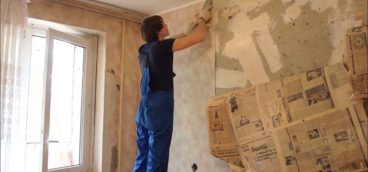 Косметический ремонт комнат — несколько советов по оформлению стен и потолков